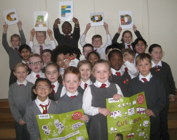 St Paul's primary CAFOD Lent Fast Day 2015