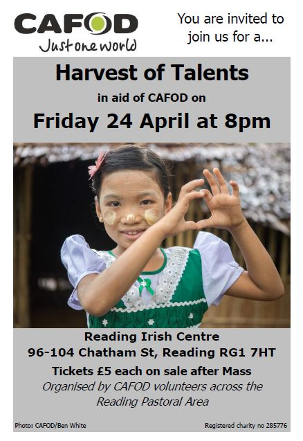 Harvest of Talents April 2015