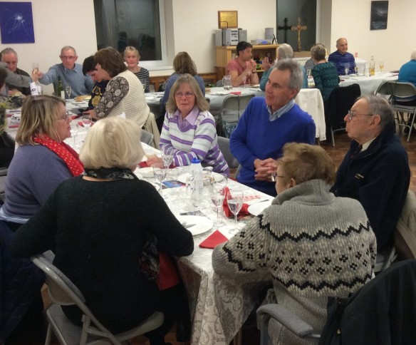 Fish Supper Westbourne Lent 2015