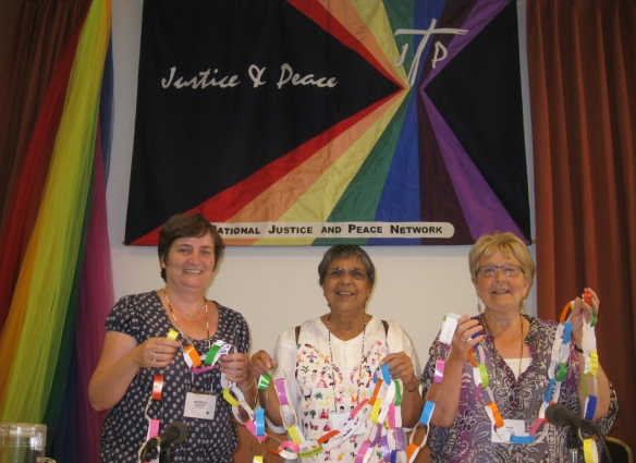 Maureen, Rita and Anne at the NJPN Conference 2015