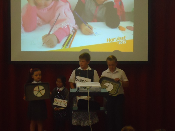 St Paul's RC primary Harvest Fast Day 2015