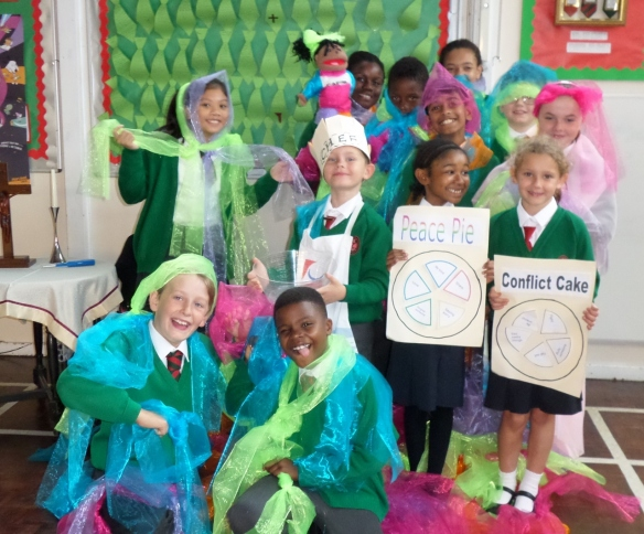 English Martyrs primary Harvest Fast Day 2015