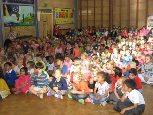 St Mary's primary Maidenhead Harvest Fast Day 2015