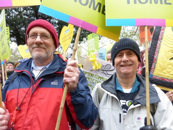 Paul and Roger on the People's Climate March