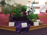 Lent 2016 display b