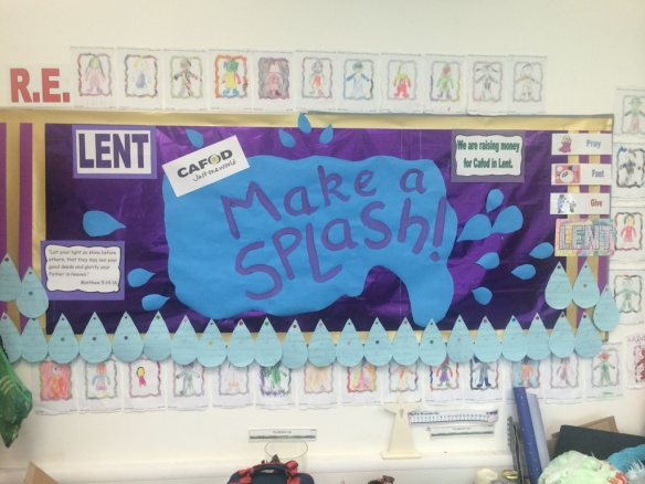 St Mary's Primary Lent Fast Day 2