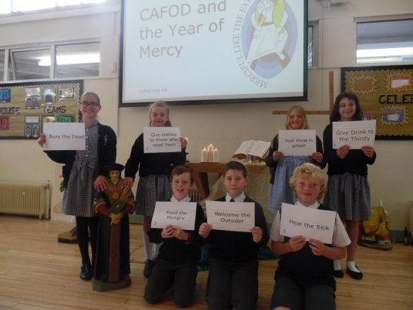 St Thomas More Primary Year of Mercy assembly May 2016