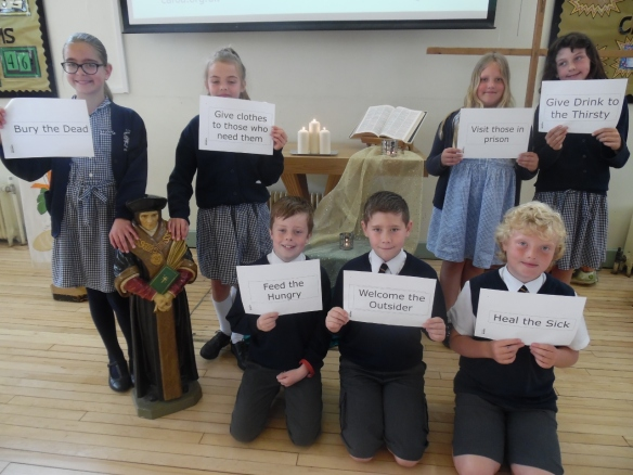 St Thomas More Primary Year of Mercy assembly May 2016a