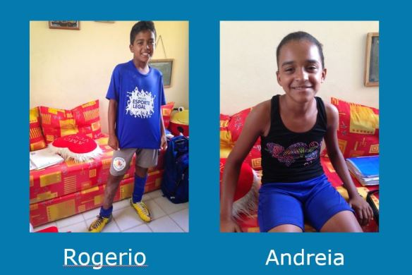 Rogerio and Andreia