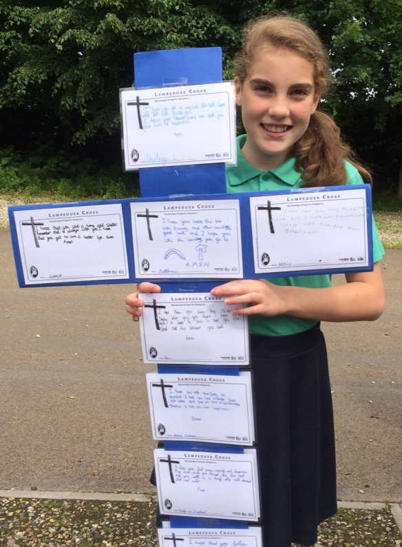 St Amand's primary and messages of hope June 2016