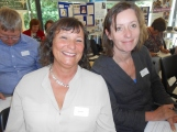 Sue Cregan and Lucy Sayer from Insight - Caritas Diocese of Portsmouth.