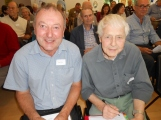 Graham Aldred and Brian Arthur from Poitiers Care in Southampton.