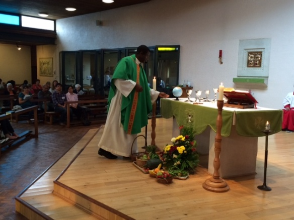 Creation mass at Woodley