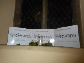 Livesimply Launch at Our Lady and St Edmund Abingdon