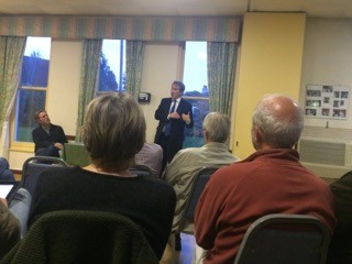 Petersfield Speak Up Week of Action Meeting with Damian Hinds MP