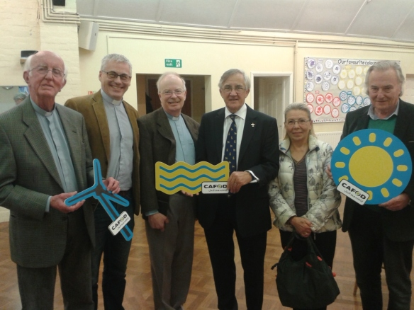 Sir Gerald Howarth MP meets constituents as part of Speak Up Week of Action