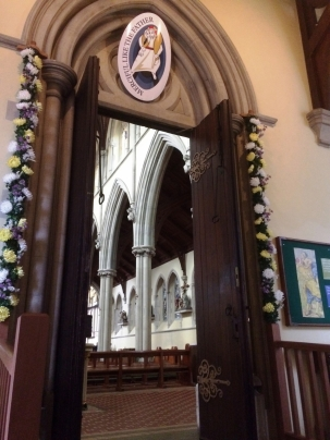 Holy Door at Portsmouth Cathedral