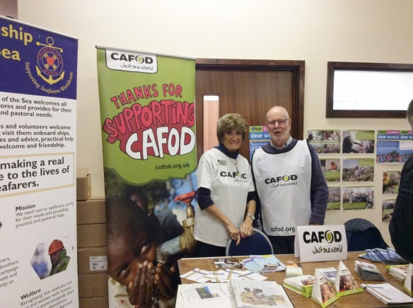 CAFOD Jersey stall November 2016 Jersey Social Action Showcase