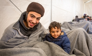 12-man-and-boy-from-syria-in-tent
