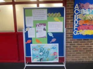 Lent fast day display