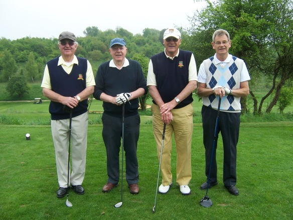 CAFOD supporters at a previous CAFOD Golf Day