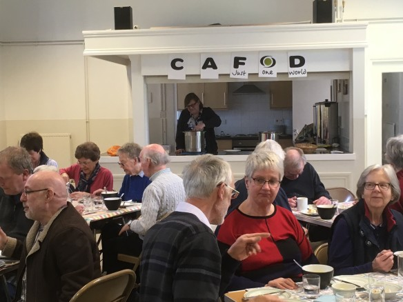 St. John the Baptist, Andover - Lenten Soup Lunch 2017