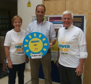 CAFOD volunteers meeting George Hollingbery MP for Meon Valley