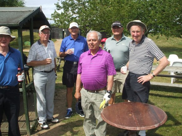 Golf day at Dummer Golf Club