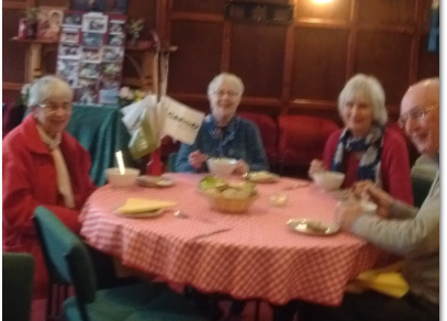 St Edmund's soup lunch