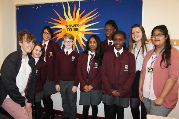 Young Leaders at Blessed Hugh Faringdon