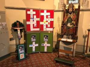Display in Portsmouth Cathedral