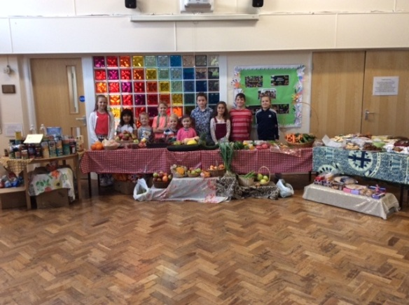 Harvest Market at St Amand's Primary