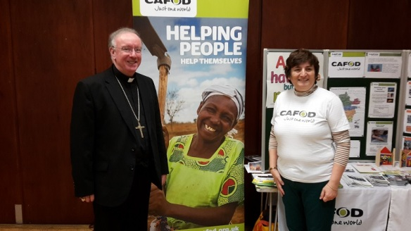 Bishop Philip with Maureen Thompson & Jo Lewry