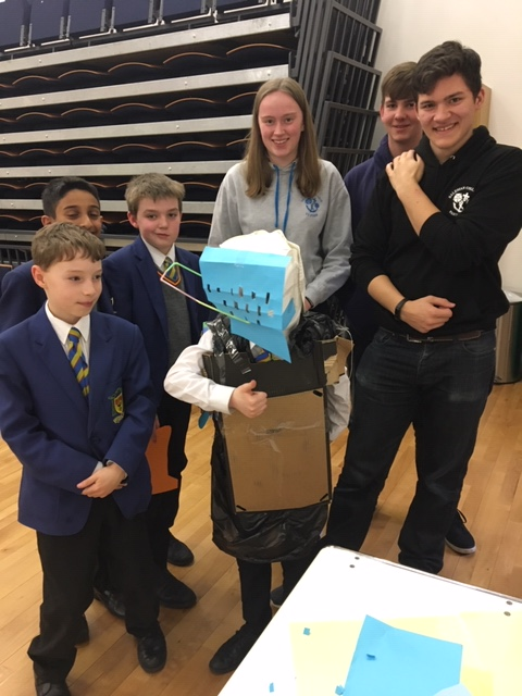 Young Leaders recycling design competition
