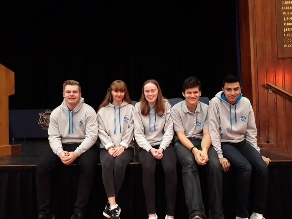 Young Leaders from Salesian Farnborough