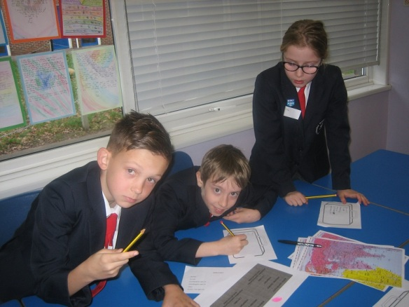 St Joseph's pupils making decisions