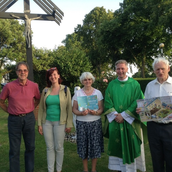 Celebrating creation at English Martyrs with Fr John- Paul