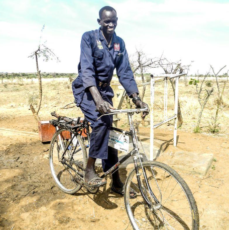 Bicycle for a water mechanic £60