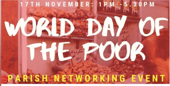 World Day of the Poor poster