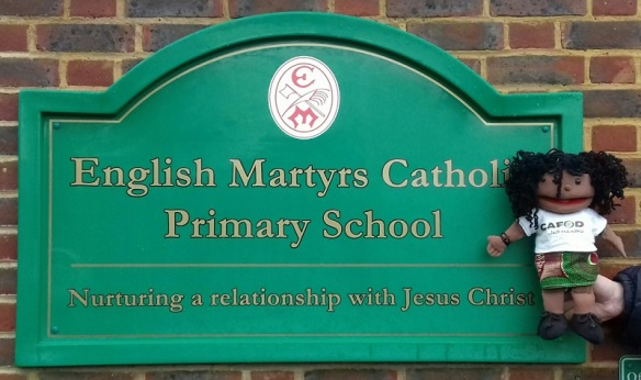 Francesca at English Martyrs Primary