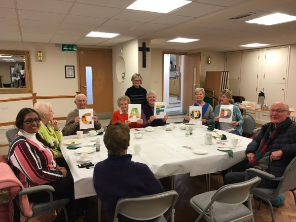 Soup lunch at Our Lady Immaculate Westbour